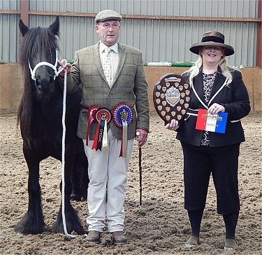 Midlands West Fell Pony Spring Show 2017